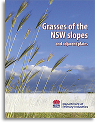 Grasses of the NSW slopes