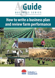 agguide how to write a business plan and review farm performance