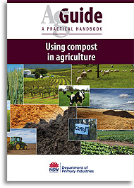 AgGuide Using compost in agriculture book cover image