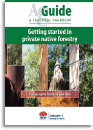 Managing the forest on your farm - cover