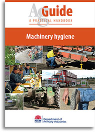 AgGuide Machinery hygiene bookcover image