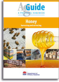 AgGuide Honey harvesting and extracting