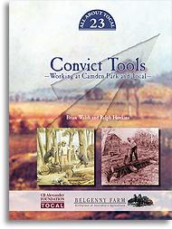 Convict tools bookcover image