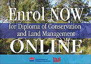 Link to Diploma of conservation and land management