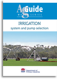 AgGuide irrigation