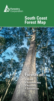 South Coast forest map cover
