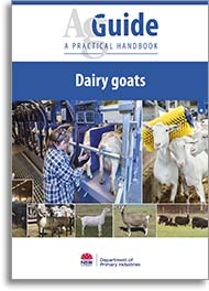 dairy goats book cover