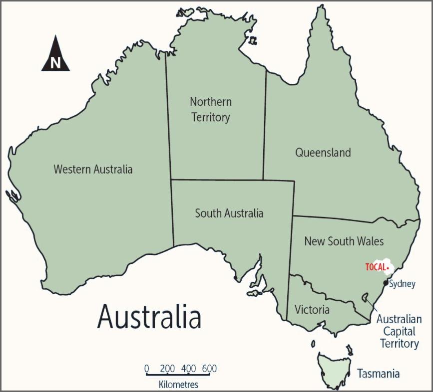 Australian_Tocal_Map