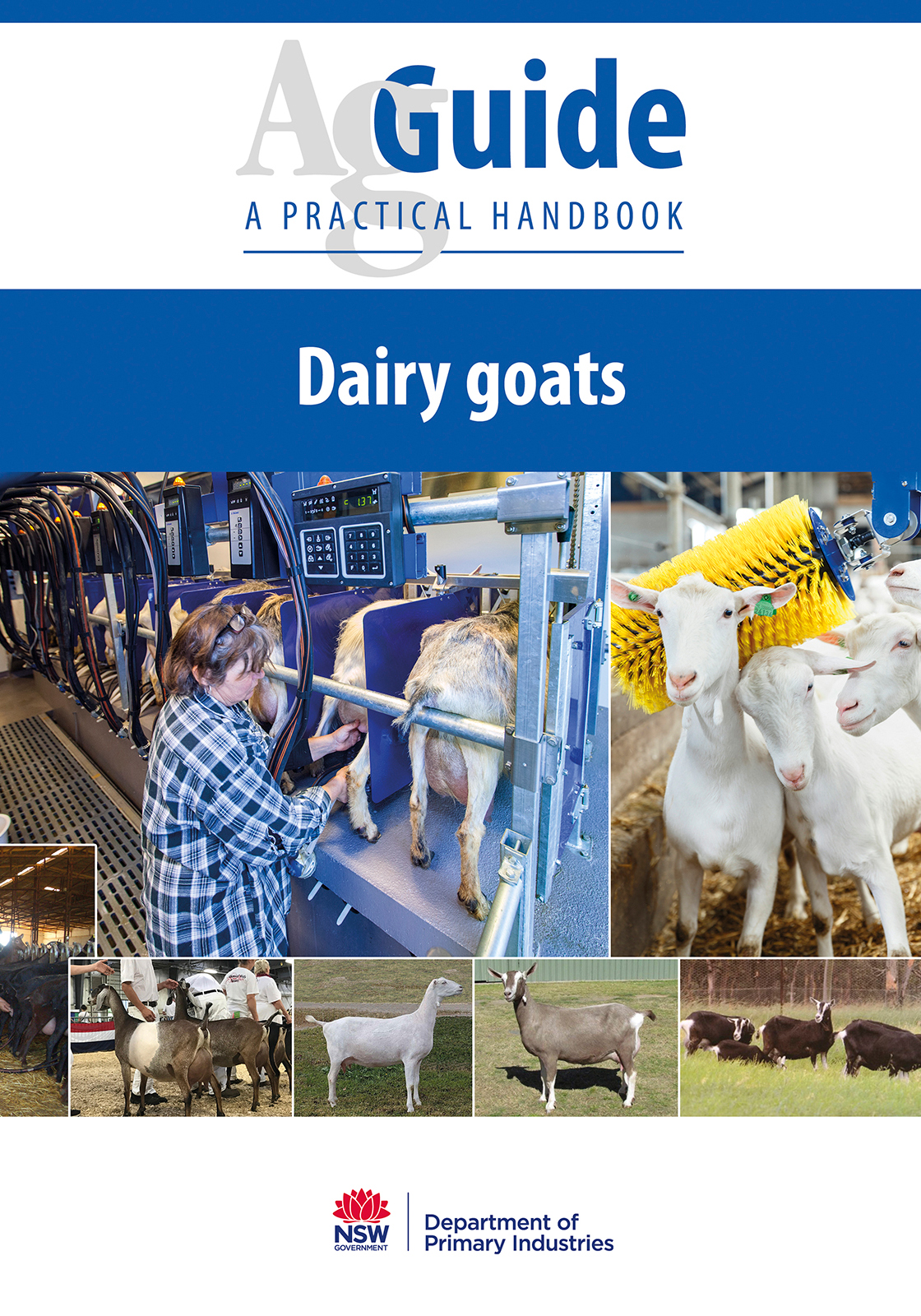 Image for Publication Dairy goats AgGuide