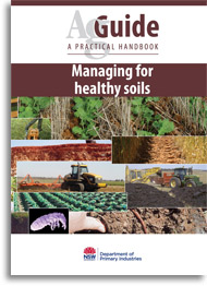 Managing for healthy soils book cover image